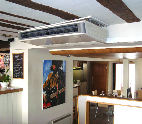 Ceiling suspended Unit- Restaurant