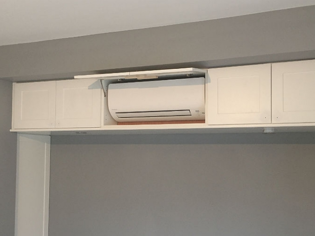 Wall Mounted Unit Conceal