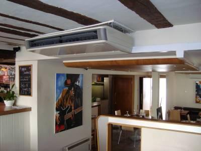 Ceiling suspended Unit- Restaurant